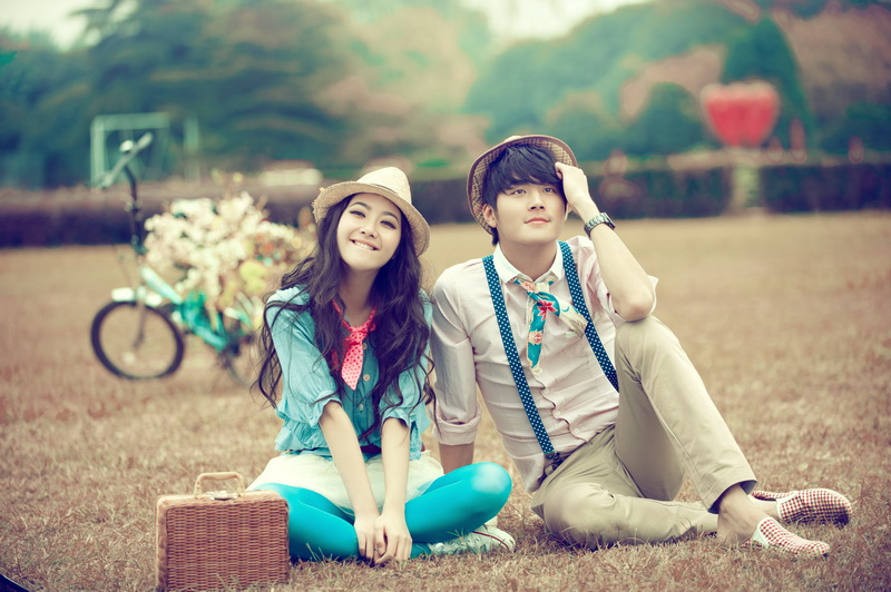 Korean Love couple Wallpaper : ???90?????? - ?????